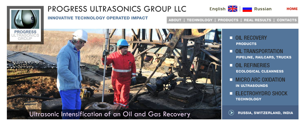 Progress Ultrasonics Group LLC